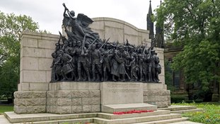War memorial's honoured