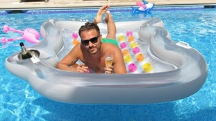 Comedian Daniel O'Reilly, better known as Dapper Laughs.