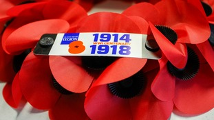 The British Legion is on target to sell more than 45 million poppies by the end of Armistice Day.