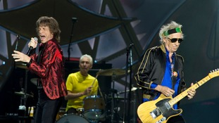 The Stones cancelled concert tours in Australia and New Zealand.