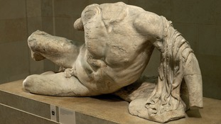 The river god sculpture from Athens dates from between 438-432 BC and