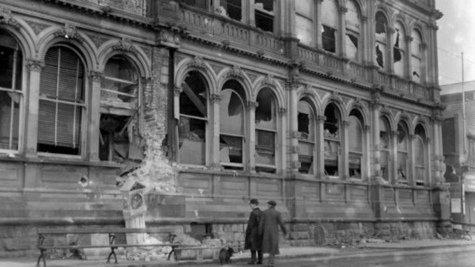 Image result for 1914 bombardment of scarborough grand hotel