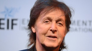 Sir Paul McCartney joined the tributes to Joe Cocker.