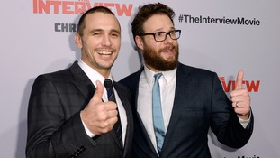 The stars of The Interview, James Franco and Seth Rogen.