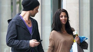 Howard Donald with Katie Halil shopping in Manchester