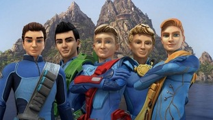 The new-look Tracy brothers from this year's hotly anticipated new series, Thunderbirds Are Go