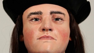 The tomb is where King Richard III's remains will be re-buried