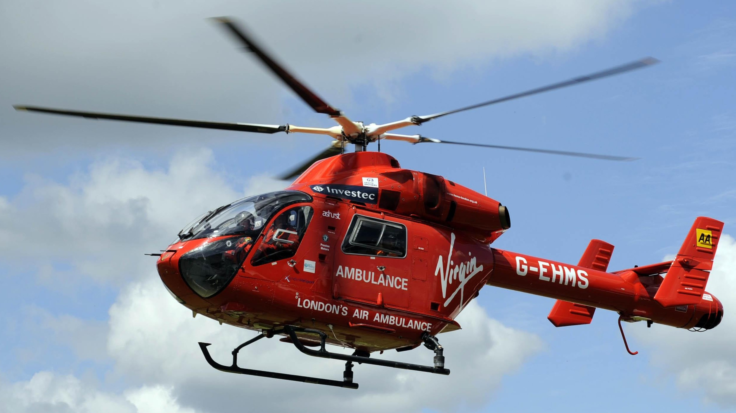 London S Air Ambulance Launches Urgent Appeal For Second