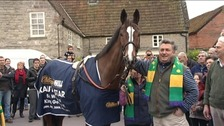 Paul Nicholls with Kauto Star