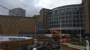 TV Centre - soon to be a 'creative hub' of shops, homes, offices and a hotel.