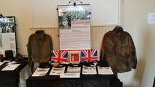 Items on show at the exhibition
