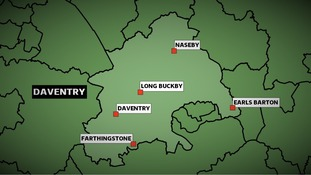 The Conservatives won the Daventry constituency in Northamptonshire at the 2010 General Election with a majority of more than 19,000 votes.