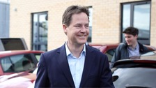 Nick Clegg said the Lib Dems would raise the personal allowance to £12,500