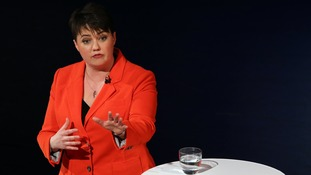 Labour came under sustained attack from Ruth Davidson, for the Conservatives