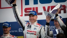 Sir Chris Hoy lands first win in European Le Mans Series.