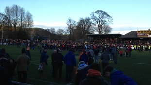 pitch invasion