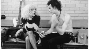The Sex Pistols' Sid Vicious and Nancy Spungen