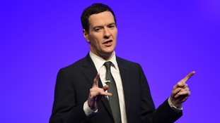 "George Osborne: ""we need to finish the job"" on the recovery"