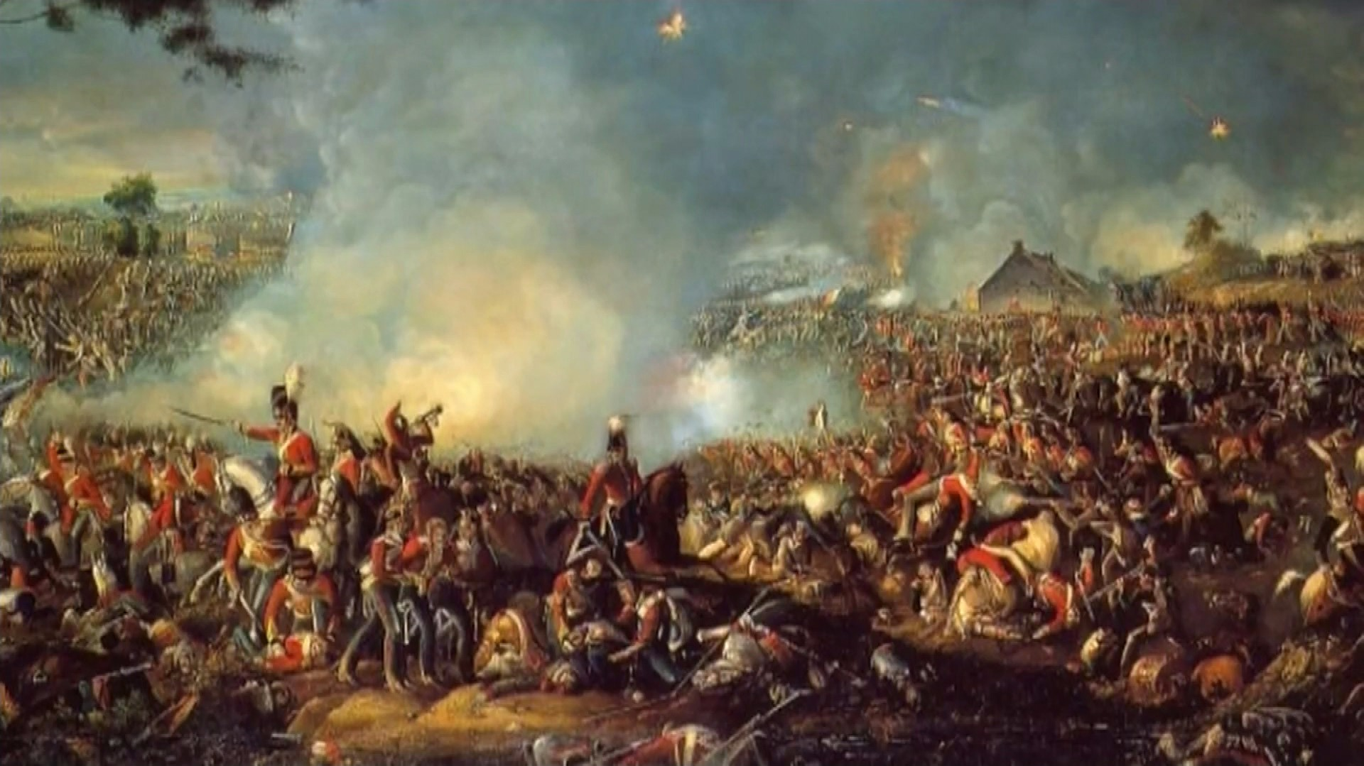 April Calendar London : Archaeologists bid to dig up secrets of battle waterloo