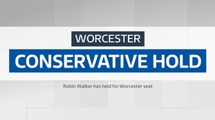 Conservatives hold Worcester