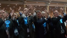 Conservatives triumph throughout the South East
