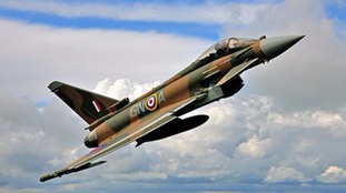 The Eurofighter Typhoon in Battle of Britain colours