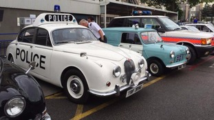 A collection of the classic cars will go on show.