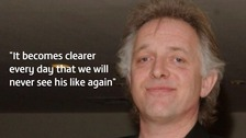 Rik Mayall suffered 'an acute cardiac event' on 9 June, 2014.