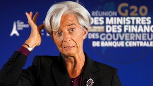 Christine Lagarde, head of the IMF, will not be present.