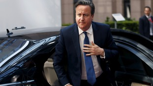 "David Cameron: ""everyone has the right to self-determination"""