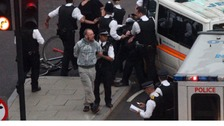 Police arrest cyclists in London