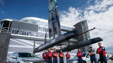 The new team, renamed Land Rover BAR, was announced at Land Rover's new home in Portsmouth.