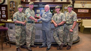 Yorkshire Regiment visits ITV Studios in Leeds