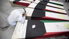 kuwait coffin