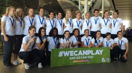 Lionesses return home with World Cup bronze