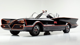 Original 1960s Batmobile goes up for sale at auction