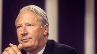 Former prime minister Sir Edward Heath died in 2005.