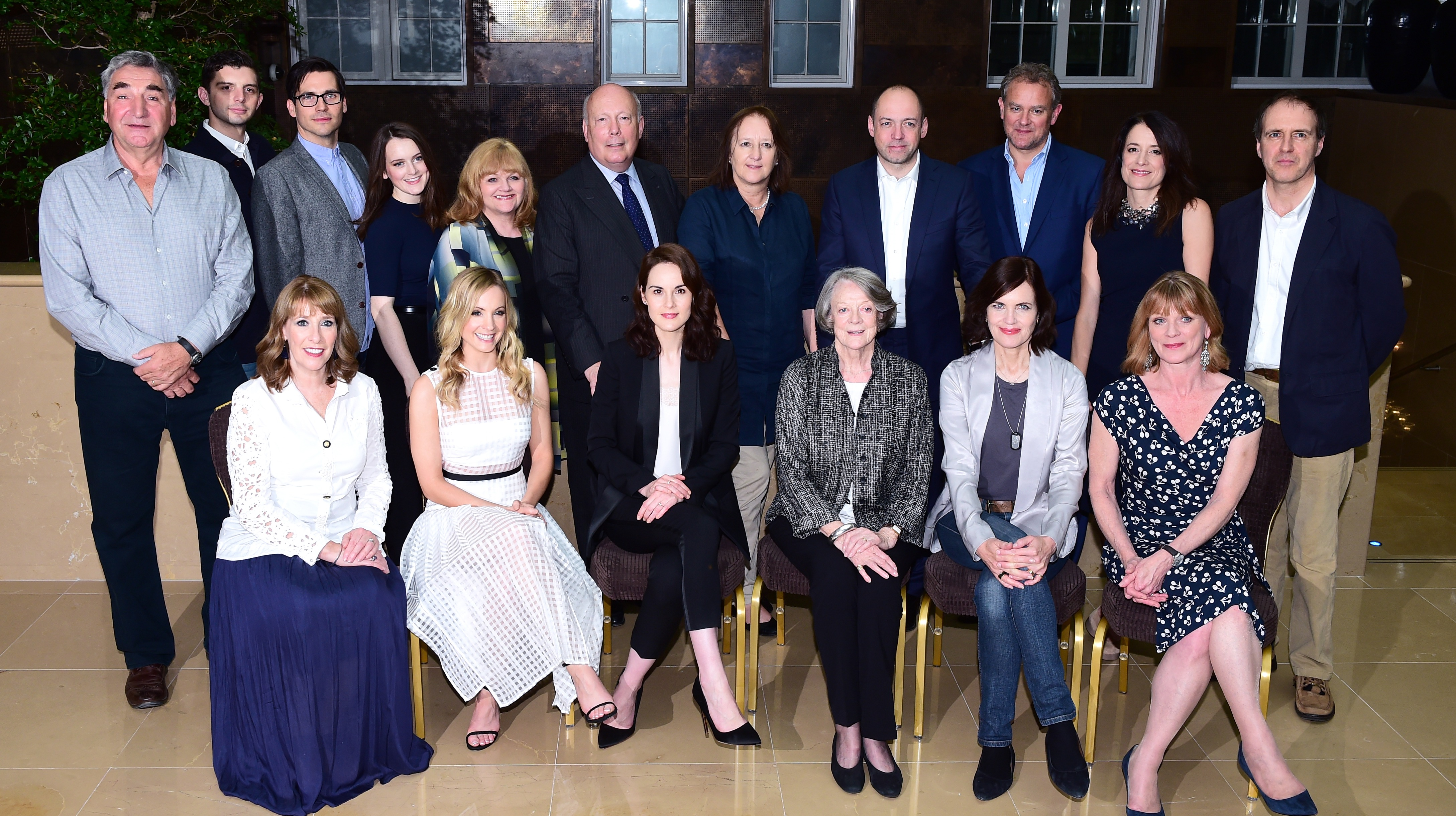 Emotional day for cast as Downton Abbey finishes filming ...