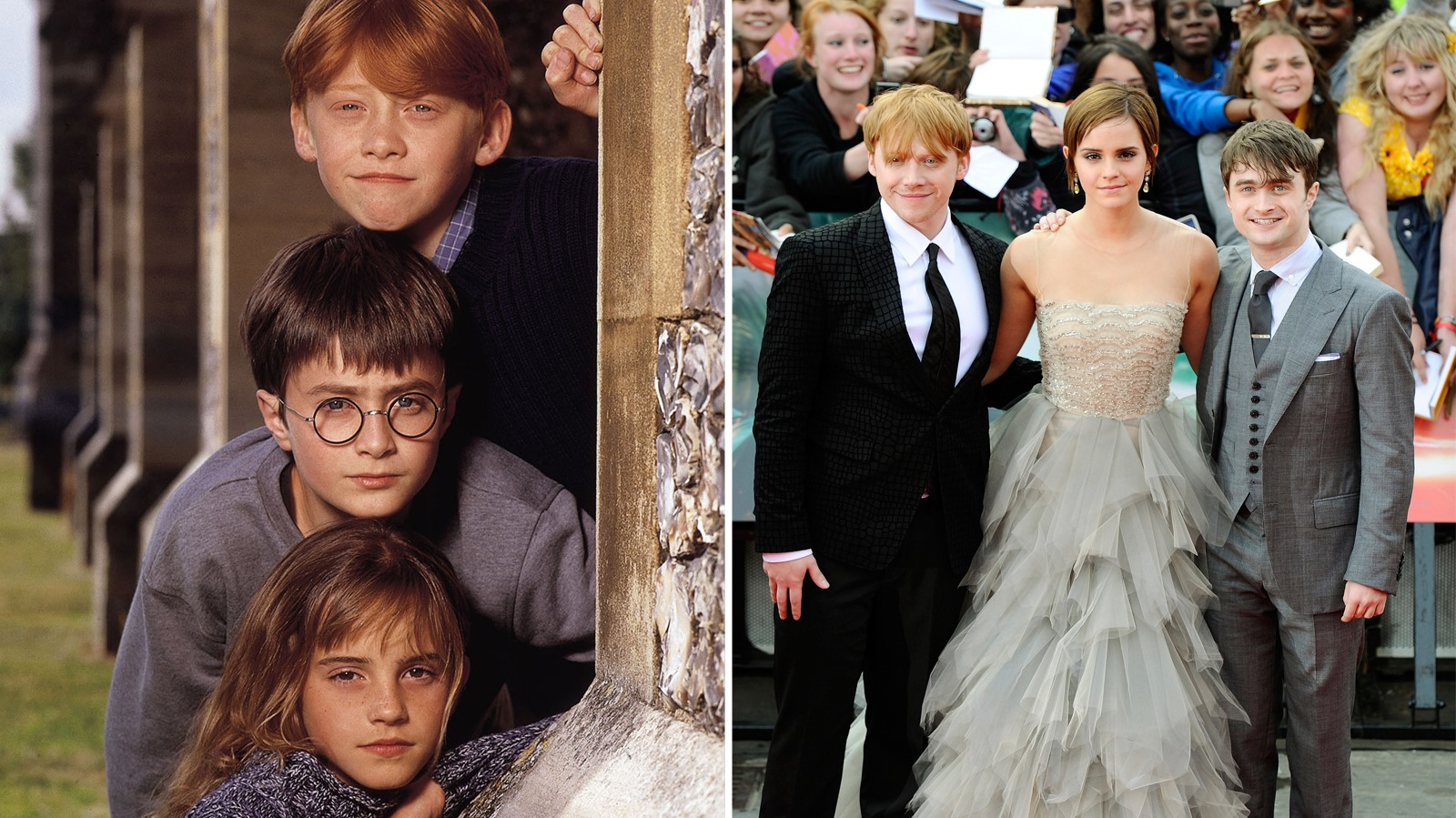 It's 15 years since Daniel Radcliffe, Rupert Grint and ...
