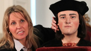 Philippa Langley received an MBE for her research into King Richard III