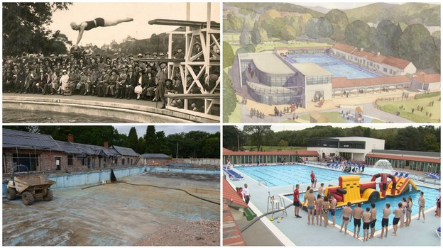 The History Of Pontypridd Lido In 45 Seconds Wales