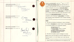 The agreement was made on 1 October 1962.