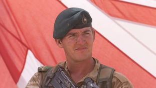 Former Sergeant Alexander Blackman while he was still in the army
