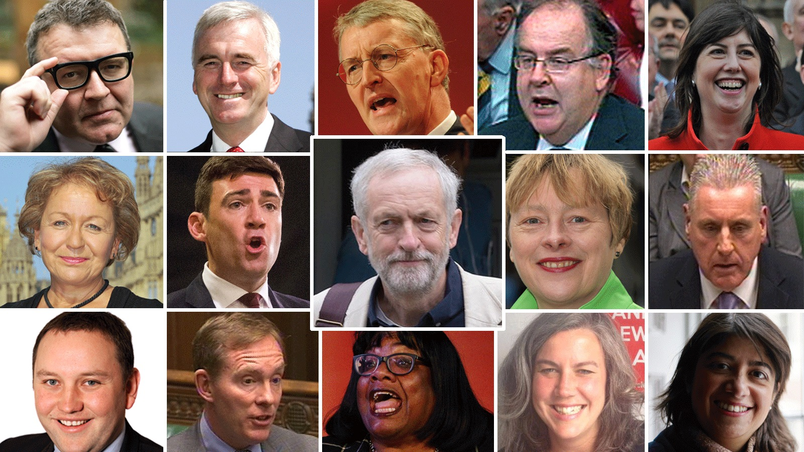 Who S Who In The New Look Labour Shadow Cabinet Itv News