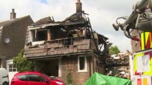 Police: Gas blast deaths 'not being treated as suspicious'.
