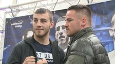 Frankie Gavin (right) was due to fight Sam Eggington (left) next week
