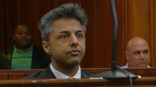 Shrien Dewani in court in South Africa