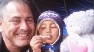 Rob Lawrie tried to smuggle Bahar from the jungle refugee camp to relatives in Leeds after her father pleaded with him to take her in his van