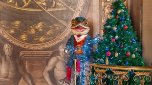 Visitors can enjoy Christmas at Chatsworth with adventures from Mr Toad, Mole, Ratty and Badger