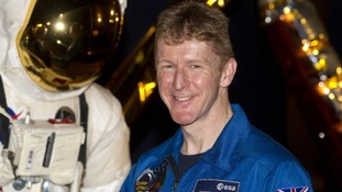 Tim Peake, from Wiltshire, will be setting off for the International Space Station in December